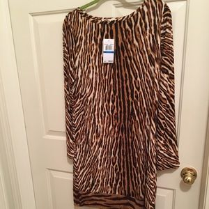 NWT AUTHENTIC MICHAEL KORS ANIMAL PRINT DRESS